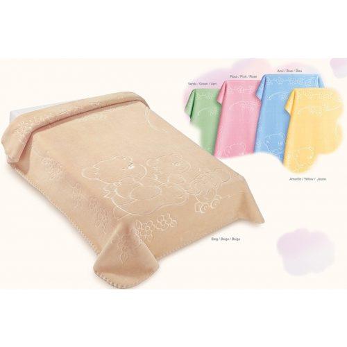 Belpla Baby perla pléd (518) 80*110 pink - tasakos