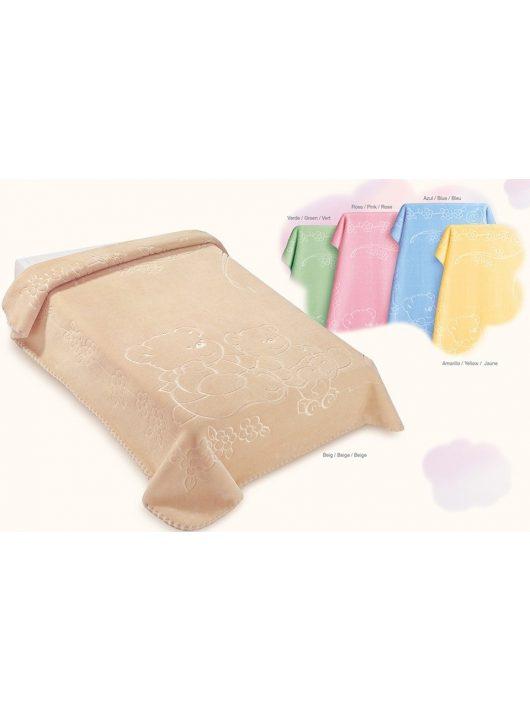 Belpla Baby perla pléd (518) 110*140 beige -tasakos