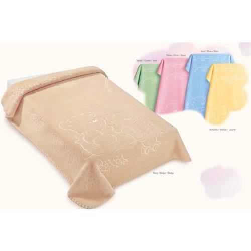 Belpla Baby perla pléd (518) 110*140 pink -tasakos