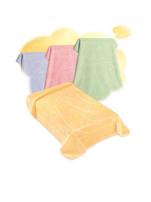 Belpla Baby perla pléd (517) 110*140 yellow-tasakos