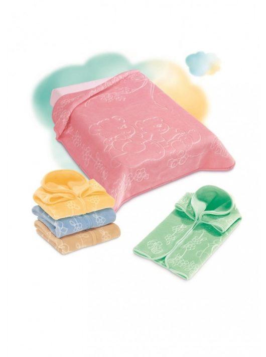 Belpla Baby perla zsák (518) 80*90 pink - dobozos