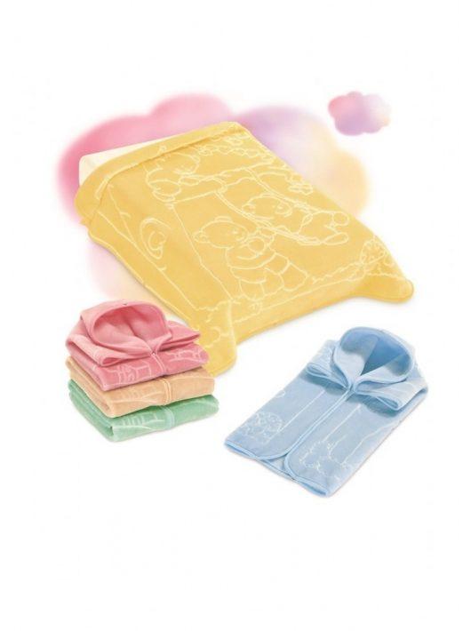 Belpla Baby perla zsák (517) 80*90 blue - dobozos