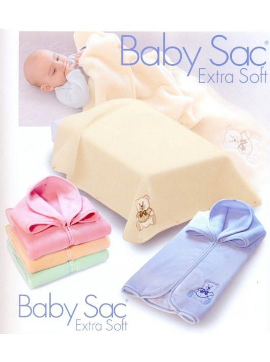 Belpla Baby perla zsák soft (702) 80*90 pink - dobozos