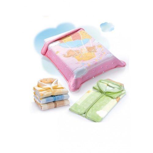 Belpla Baby perla gold zsák (538) 80*90 pink