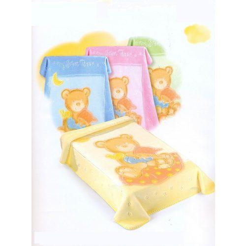 Belpla Baby perla gold pléd (537) 110*140 beige