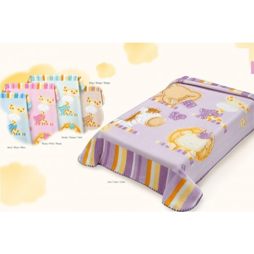 Belpla Baby perla gold pléd (542) 80*110 beige -dobozos