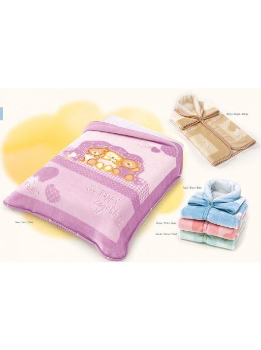 Belpla Baby perla gold zsák (543) 80*90 pink - dobozos