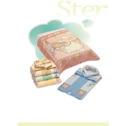 Belpla Baby perla zsák ster (621) 80*90 blue - dobozos