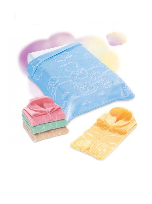 Belpla Baby perla zsák Maxy (519) 80*90 kék - dobozos