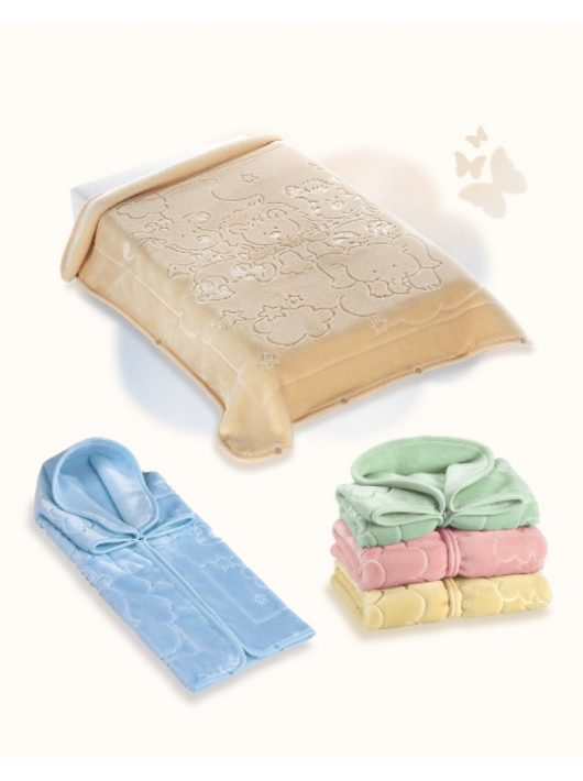 Belpla Baby perla zsák ster (520) 80*90 beige - dobozos