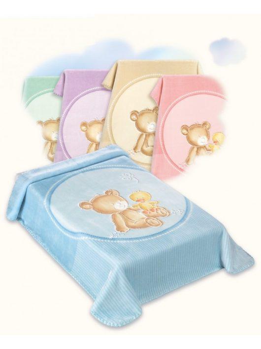 Belpla Baby perla gold pléd (549) 80*110 lila -tasakos
