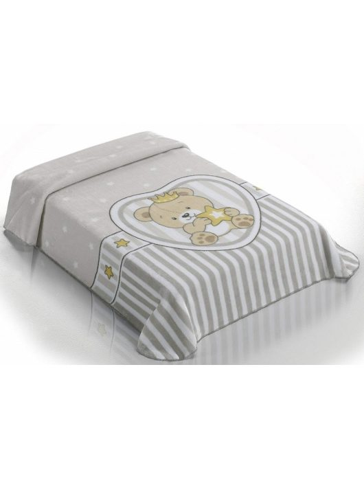 Belpla Baby perla pléd (655) Baby Sweet 80*110 grey - dobozos