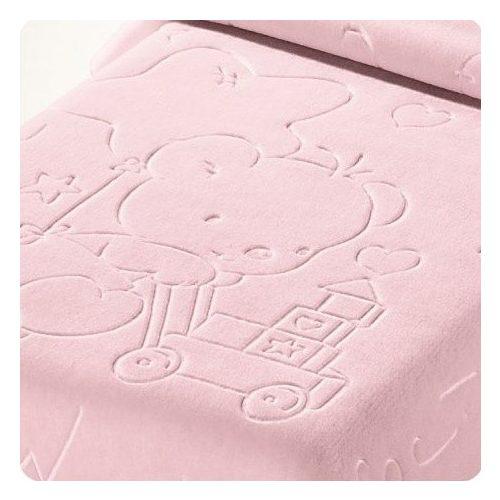 Belpla Baby perla pléd (521) Baby Sweet 80*110 pink - dobozos