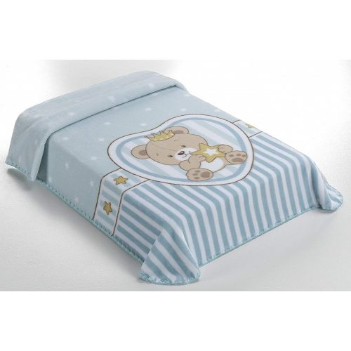 Belpla Baby perla pléd (655) Baby Sweet 80*110 blue - dobozos