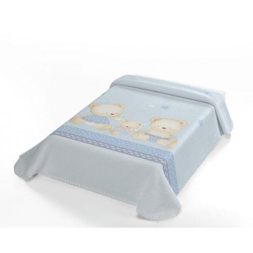 Belpla Baby perla pléd (663) Baby Sweet 80*110 blue - dobozos