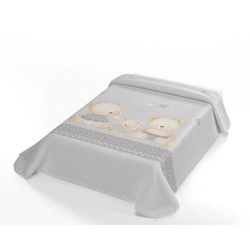 Belpla Baby perla pléd (663) Baby Sweet 80*110 gray - dobozos