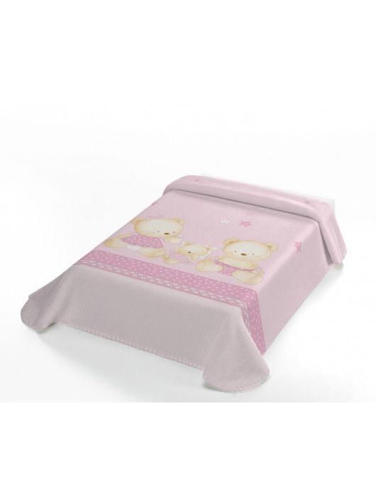 Belpla Baby perla pléd (663) Baby Sweet 80*110 pink - dobozos
