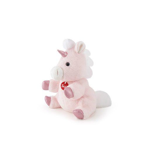 Trudi plüss báb magvas párnával 26 cm - Unicorn