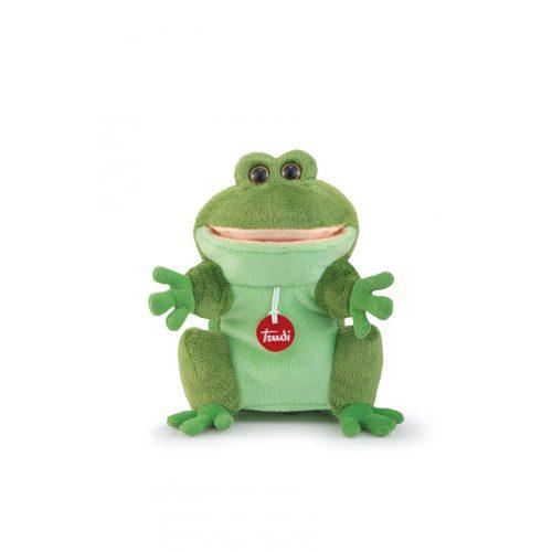 Trudi Puppet  Frog - Béka báb plüss játék