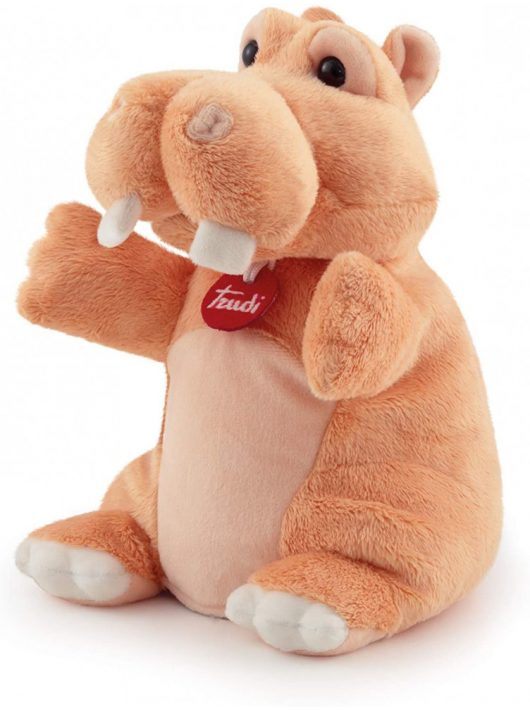 Trudi plüss báb 24 cm - Hippo