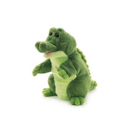 Trudi Puppet Crocodile - Krokodil báb plüss játék