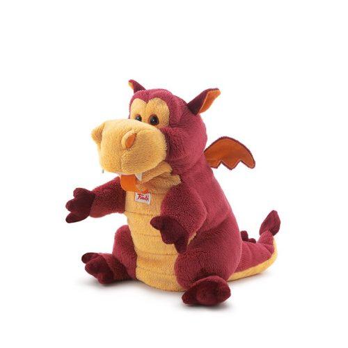 Trudi Puppet Dragon - Sárkány báb plüss játék