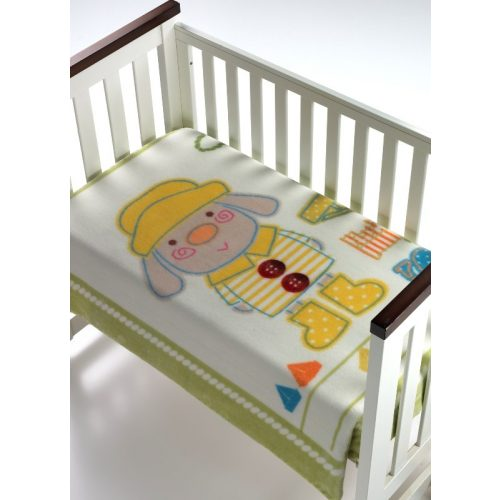 Mora Magic Baby 056 pléd 80*110 08-verde-dobozos