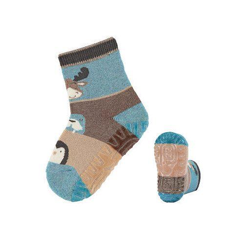 Sterntaler szilikon talpú zokni vastag frottír