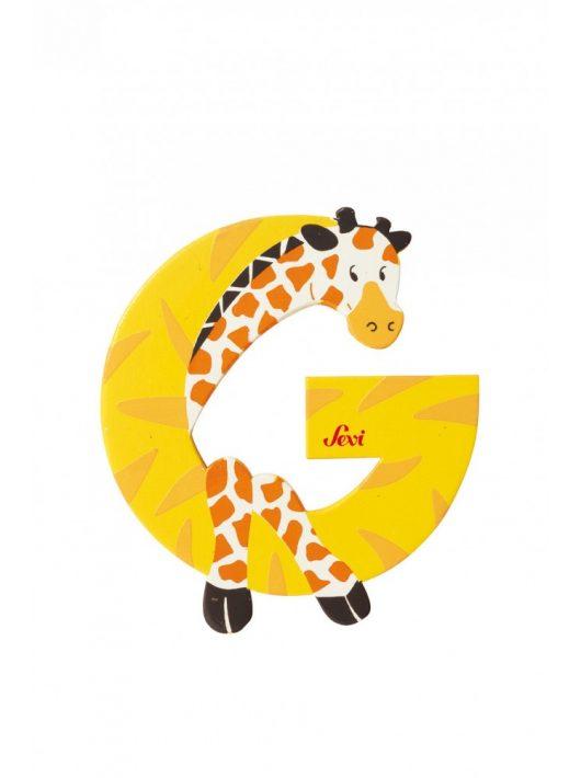 Sevi fa betű állatos G