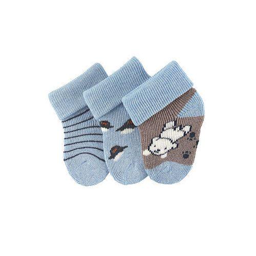 Sterntaler újszülött zokni szett 3 pár