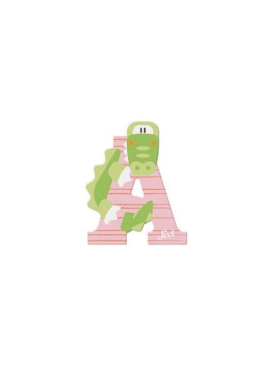 Sevi fa betű állatos A - Alligator