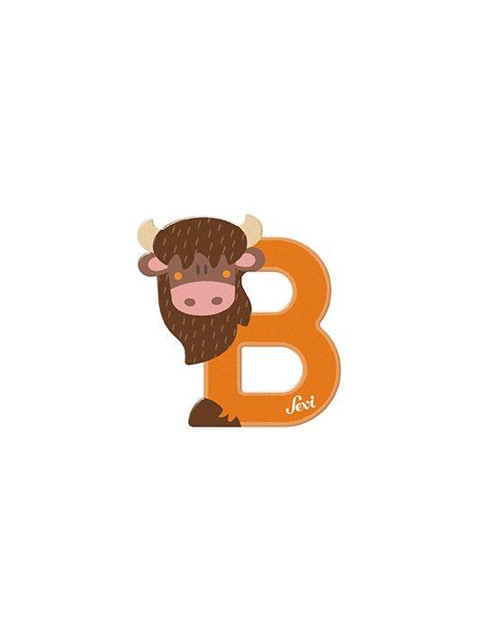 Sevi fa betű állatos B - Bison