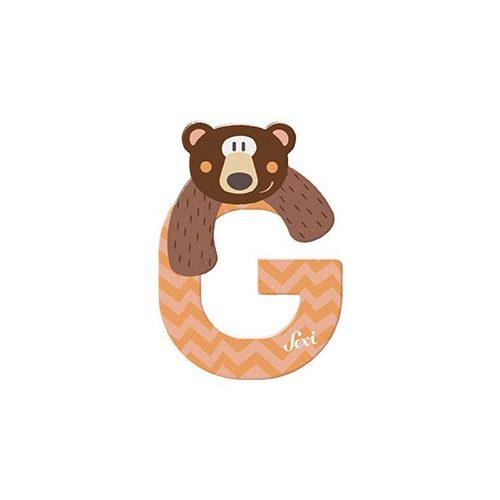 Sevi fa betű állatos G - Grizzly