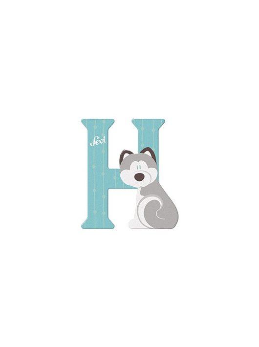 Sevi fa betű állatos H - Husky