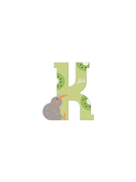 Sevi fa betű állatos K - Kiwi