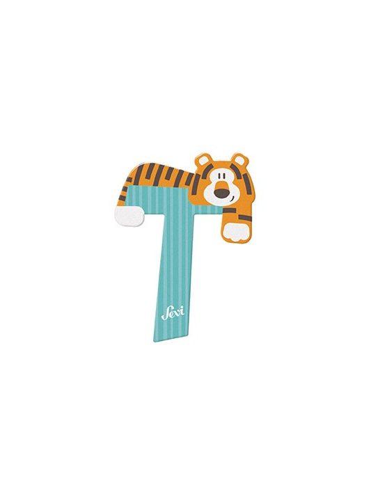 Sevi fa betű állatos T - Tiger