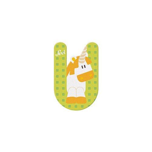 Sevi fa betű állatos U - Unicorn