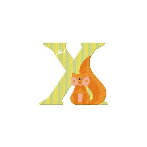 Sevi fa betű állatos X - Xero