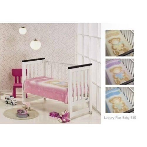 Mora Lux Plus Baby 650 pléd 110*140 09-lila -tasakos