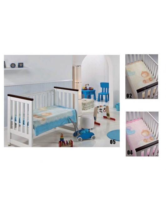 Mora Lux Plus Baby 651 pléd 110*140 09-lila -tasakos