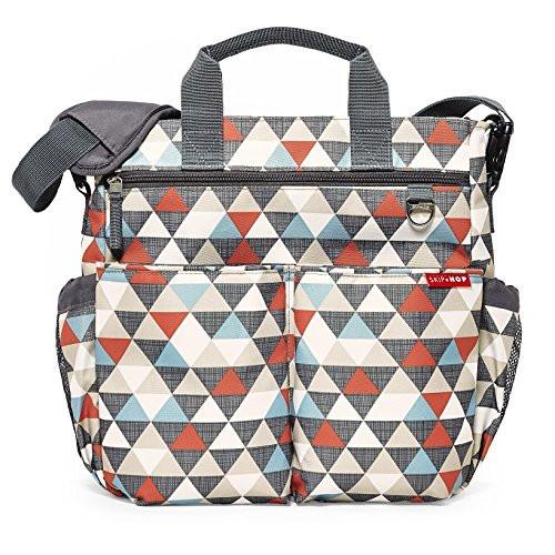 Skip Hop pelenkázó táska - Duo Signature -Triangles