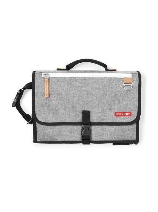 Skip Hop pelenkázó táska - Pronto Signature Grey Melange
