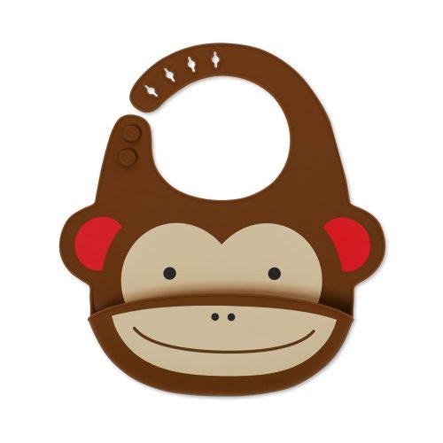 Skip Hop Zoo szilikon előke Majom
