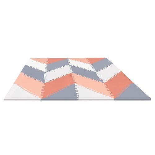 Skip Hop játszószőnyeg Geo világosszürke/rózsaszín