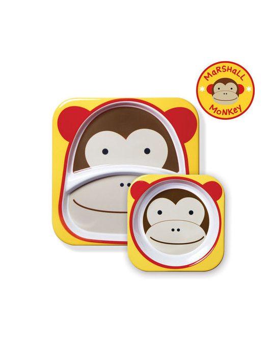 Skip Hop Zoo tányér szett Majom