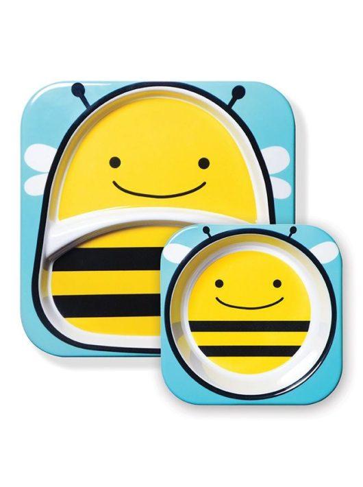 Skip Hop Zoo tányér szett Méhecske
