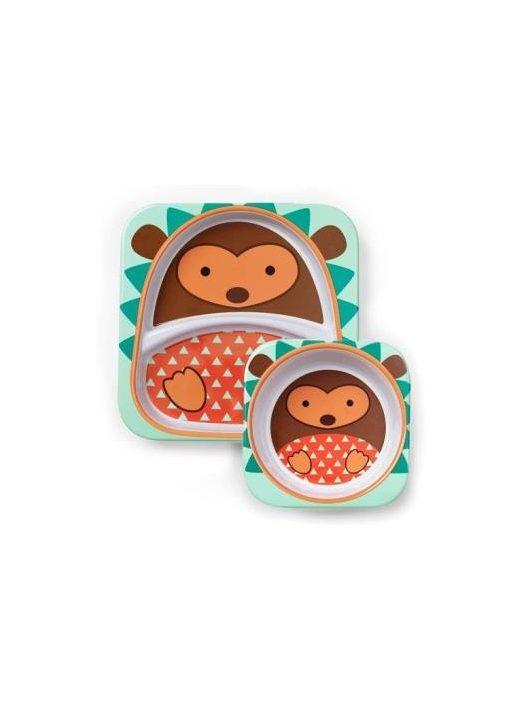 Skip Hop Zoo tányér szett Süni