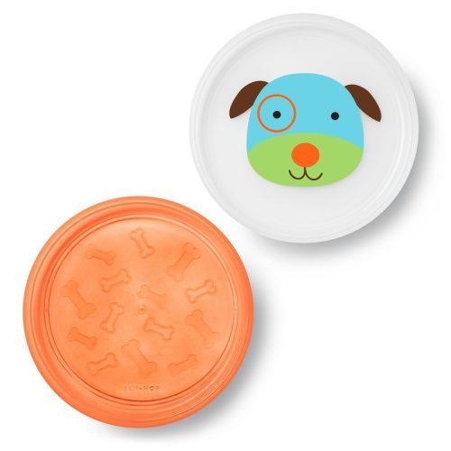 Skip Hop csúszásgátlós tányér lapos 2db-os Kutya