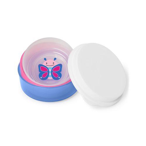 Skip Hop csúszásgátlós tányér mély 3db-os Pillangó