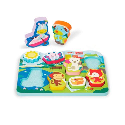 Skip Hop Zoo puzzle játék Park Pals